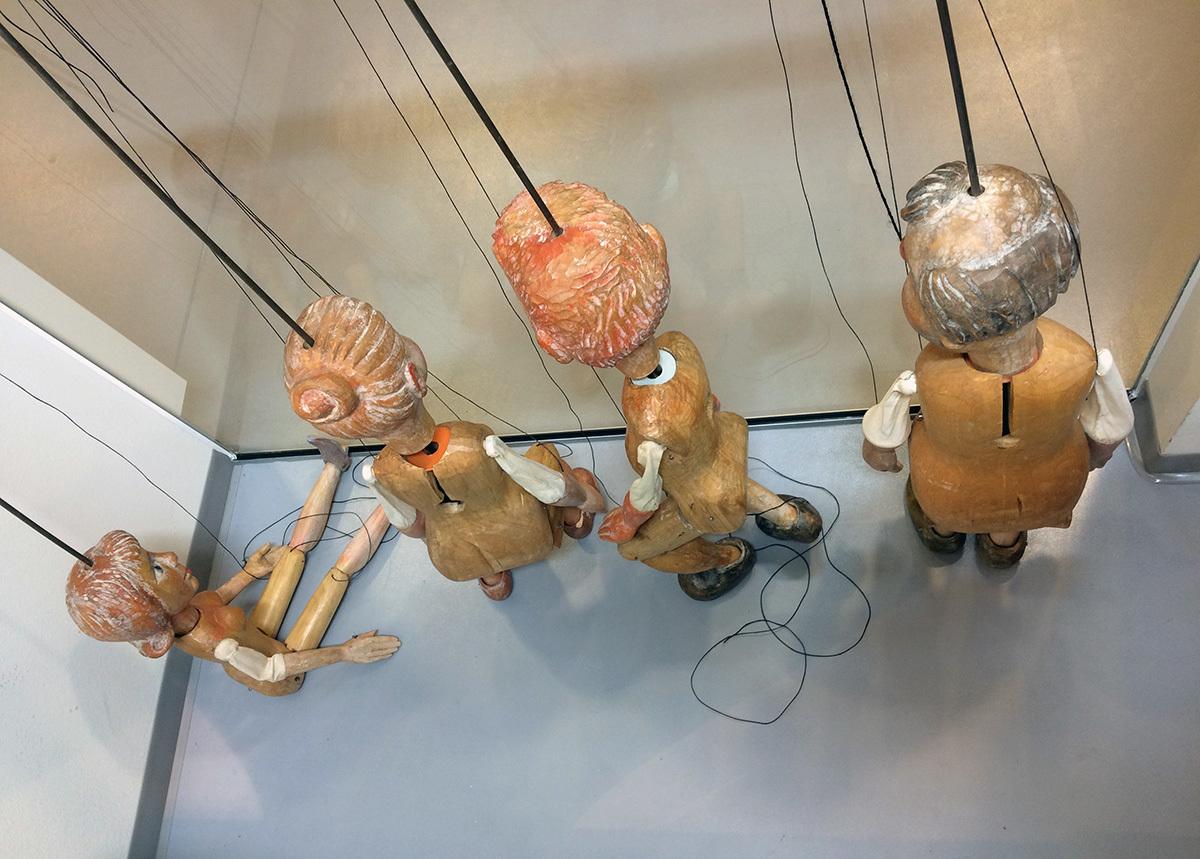 Puppets. January 2016.