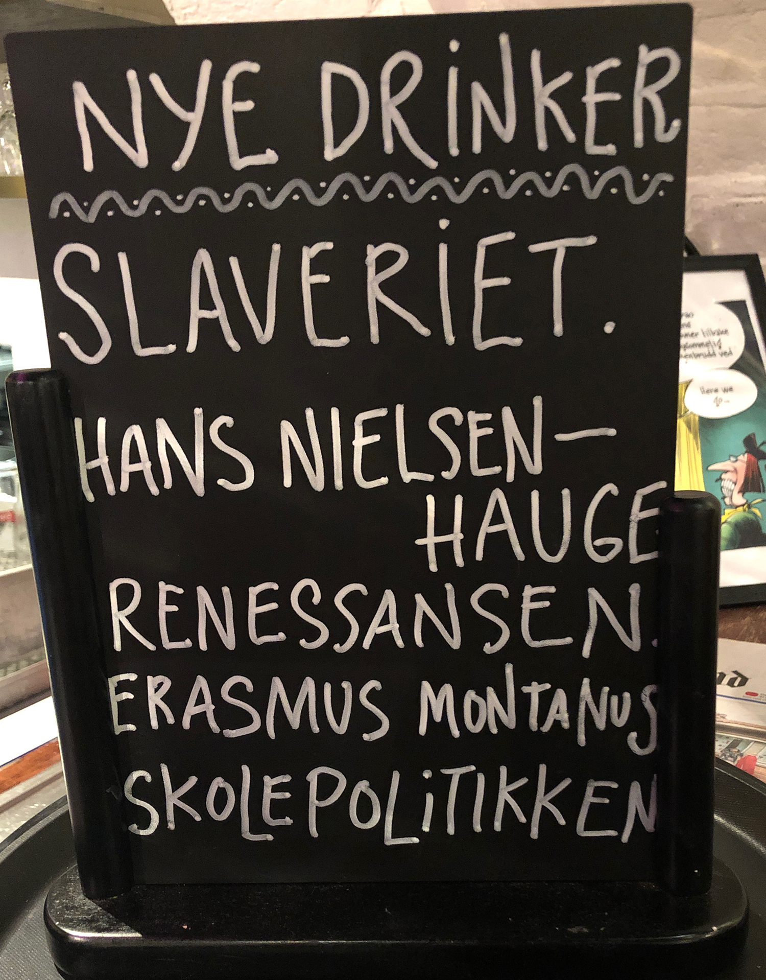 Nye drinker